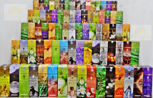 Incenso Shankar Com Até 5 Aromas Sortidos Por Caixa = 25 Caixinhas