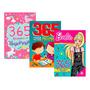 Kit 365 Atividades Unicórnios Barbie Matemática
