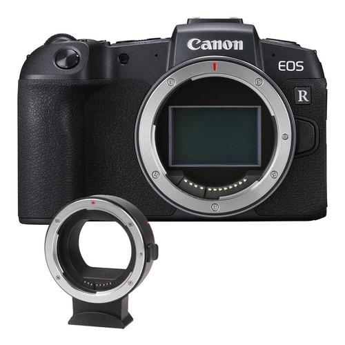 Câmera Mirrorless Canon Eos Rp Adaptador Ef Ef s Top!