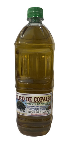 1 Lt Óleo De Copaíba 100% Pura + Brindes