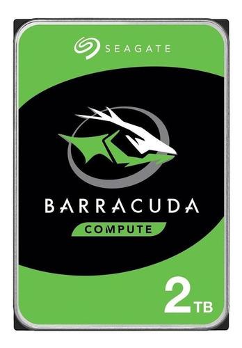 Disco Rígido Interno Seagate Barracuda St2000dm008 2tb