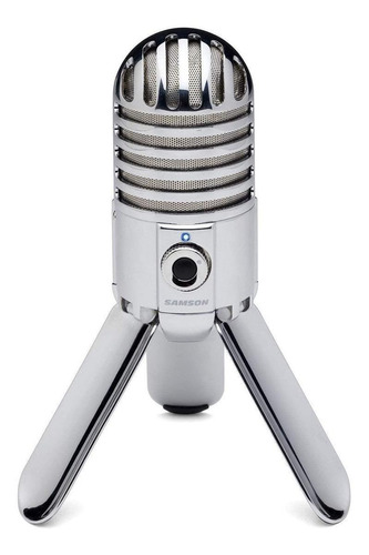 Micrófono Samson Meteor Mic Condensador Cardioide Chrome Plated