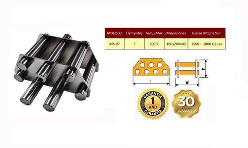 Trampa Magnética De 7 Elementos Para Tolva