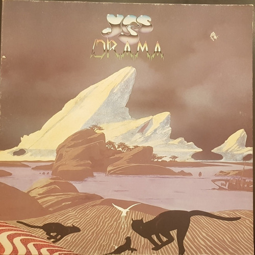 Vinilo Yes. Drama. Importado. 1980. Impecable