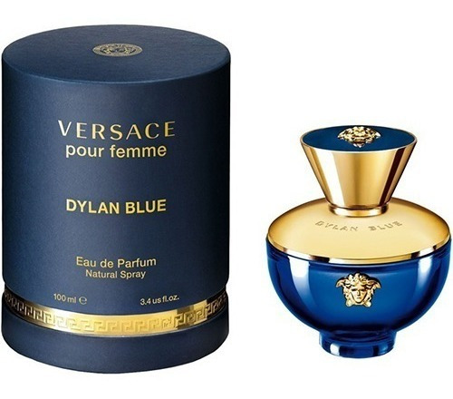 Perfume Versace Dylan Blue 100ml Mujer - mL a $2877