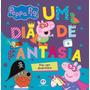 Livro Novo Peppa Pig Um Dia De Fantasias