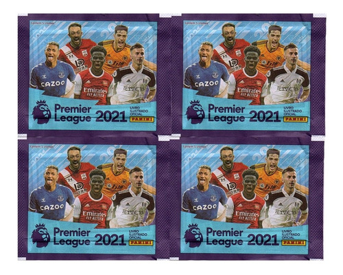 Kit 100 Figurinhas Do Álbum Premier League 2021 (20 Env)