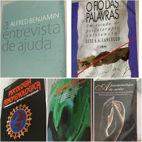 Livro Combo De Psicologia E Fenomenologia Existencial
