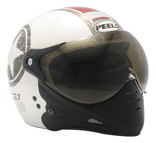 Capacete Peels Esportivo Moto F21 Us Navy Masculino Feminino