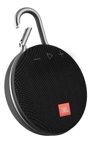 Caixa De Som Jbl Clip 3 Bluetooth Preta Clip3