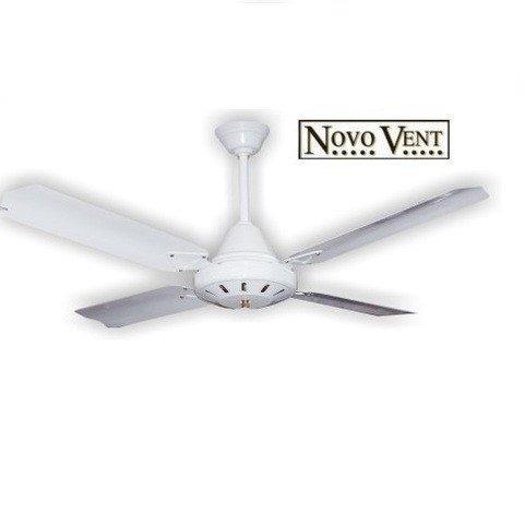 Ventilador De Techo Novo Vent 4120 Lic Metalico Blanco