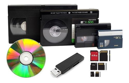 Vídeos A Dvd - Archivos A Pendrive  Todos Los Formatos -leer