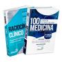 Livro Combo Ciclo Clínico Raciocínio E 100 Casos Clínicos