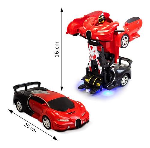 Carrinho Vira Robo Bateria Recarregável Controle Remoto