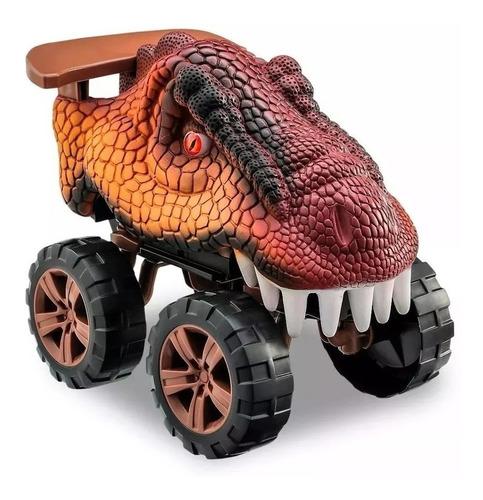 Carro Carrinho T- Rex Dinossauro Animals Off Road - Usual