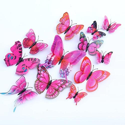 Mariposas Decorativas 3d