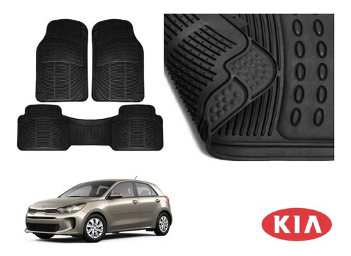 Kit Tapetes De Uso Rudo Kia Rio Hatchback 2018 Rb Original