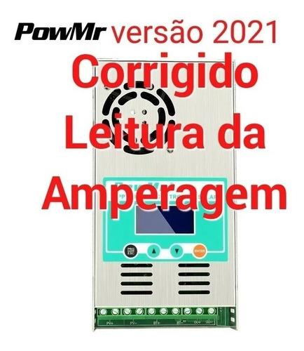 Controlador De Carga 100% Mppt 60a Powmr