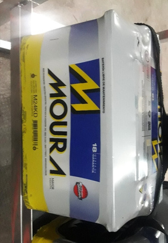 Batería Moura M24kd 12x75 Colocación Gratis
