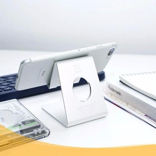 Base Soporte Smartphone Celular En Aluminio Plegable