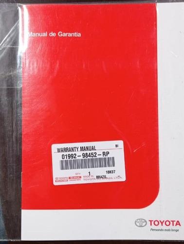 Manual De Garantia Toyota