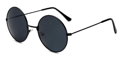 Óculos De Sol Redondo Feminino Masculino Estilo Ozzy Retrô