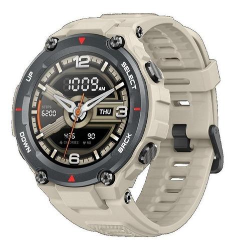 Smartwatch Amazfit Sport T-rex 1.3  Caixa 47.7mm De  Polímero  Khaki Pulseira  Khaki De  Silicone A1919