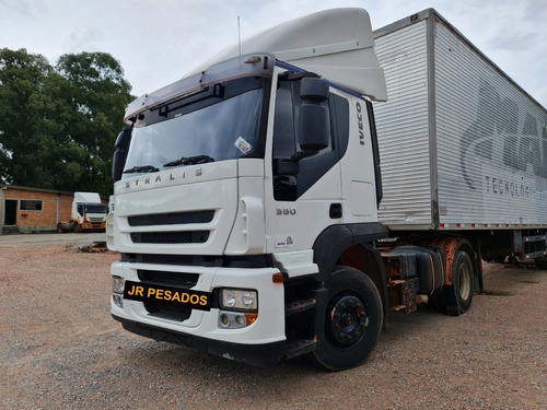 Iveco Stralis 380 Ano 2008 Toco 4x2 = Fh 400 P360 Mb