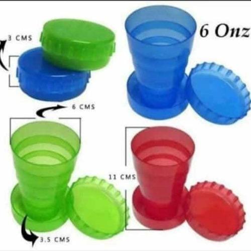 Vasos Retractiles Ecológicos Por 12 Unidades