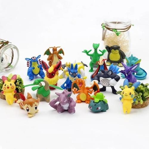 Figuras Pokémon X 24 Unidades