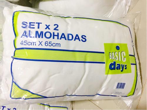 Almohadas Set X 2