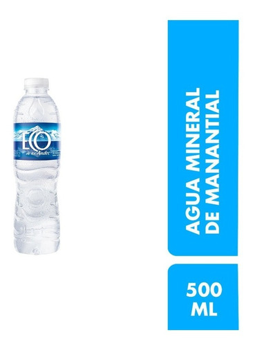 Agua Mineral Eco De Los Andes 500ml Pack X 12