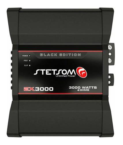 Módulo Amplificador Stetsom Ex 3000 Black 4 Ohms