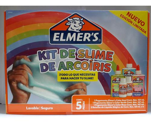 Kit De Slime De Arcoiris Elmers Caballito Bunny Toys