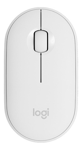 Mouse Inalámbrico Logitech Pebble M350 Blanco
