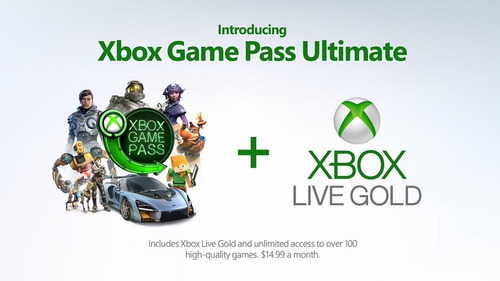 Xbox Game Pass Ultimate 1 Mes [cuenta]