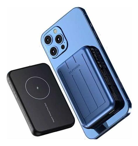Carregador Sem Fio Magnético Powerbank Compatível iPhone 12
