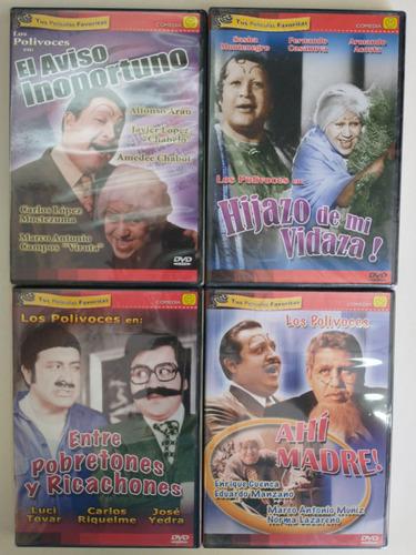 Colección Los Polivoces Dvd Películas Nuevo