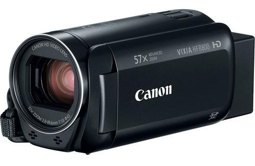 Filmadora Canon Vixia Hf R800 Entrada Microfone Full Hd 57x