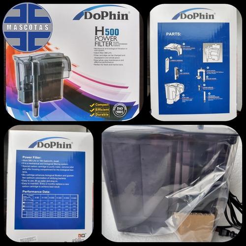 Filtro Exterior Para Acuario Dophin H-500