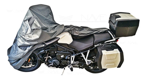 Capa Para Moto Impermeavel Forrada Termica Premium