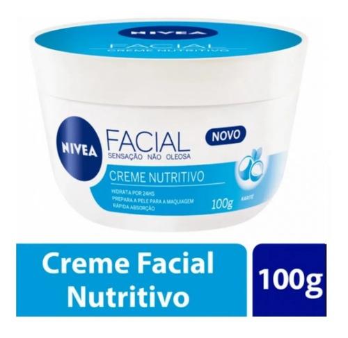Creme Facial Nivea Cuidado Nutritivo 100g-1unidade