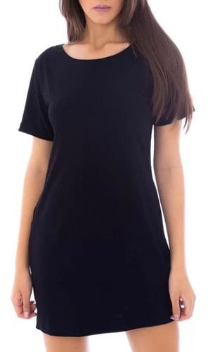 Vestido Camisetão Roupa Blusao Feminino Camisa Mulheres Top