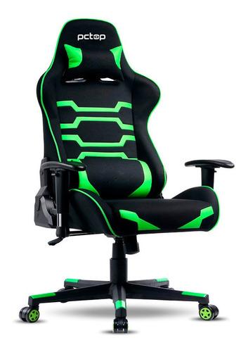 Cadeira Gamer Pctop Power Verde X-2555