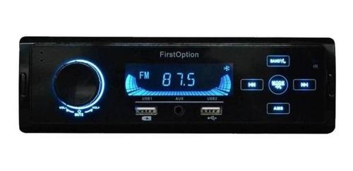 Som Automotivo First Option Mp3-5560 Com Usb E Bluetooth