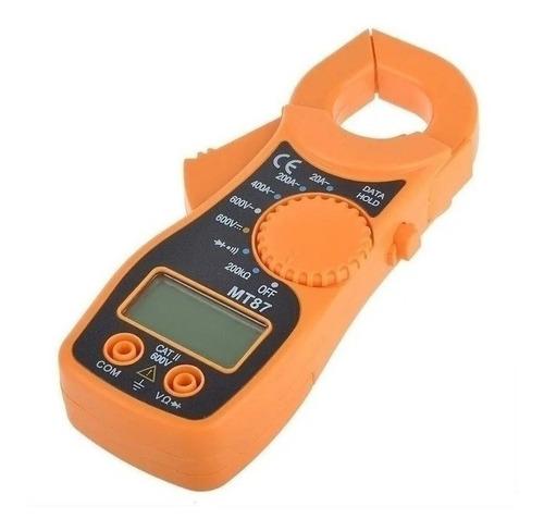 Pinza Amperimétrica Digital Baw Mt87 400a