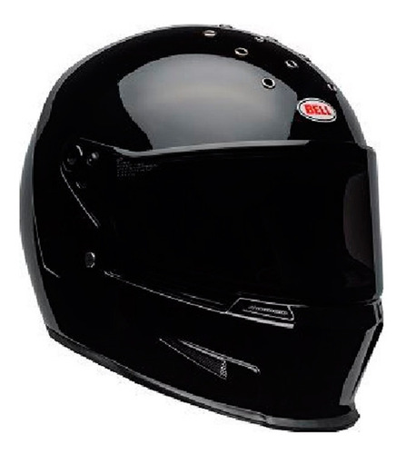 Capacete Bell Eliminator Solid Gloss Black @#