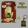 Gravity Falls Diário 3 Em Português Chaveiro Promoção