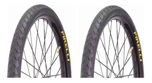 Par Pneu Bike Pirelli 700x38 Phantom Street Serve Em Aro 29