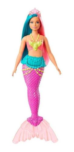 Barbie Fairytale Sereia Dreamtopia- Gjk07